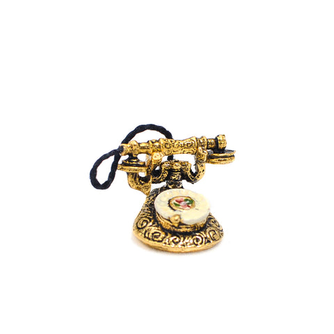 Ladies Desk Phone, Brass
