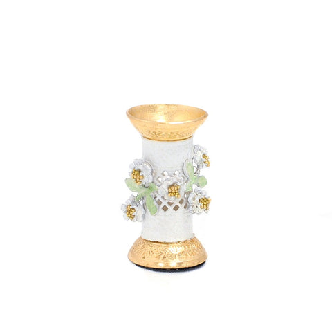 Umbrella Stand with Floral Accents