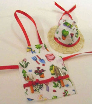 Garden Apron and Hat
