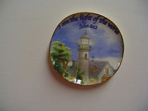 Light House Plate, Light of the World