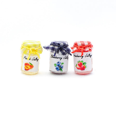 Jelly Jars, Set of Three