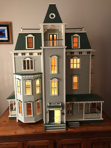 Bayside Mansion Finished Dollhouse Price Lowered!