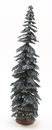Spruce Tree, Blue,  12 Inches Tall