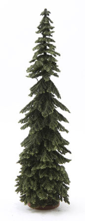 Spruce Tree, Green,  12 Inches Tall
