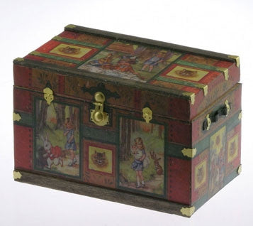 Lithograph Trunk Kit, Wonderland