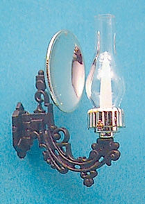Reflector Wall Sconce with Glass Chimney