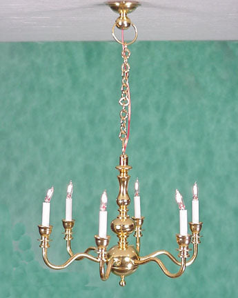Clare-Bell Six Arm Chandelier