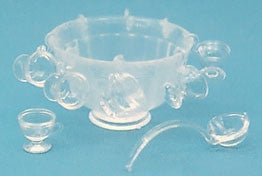 Clear Punch Bowl Set Kit