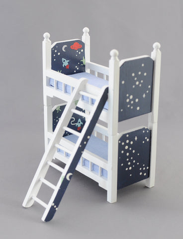 Little Bunk with Outer Space Theme
