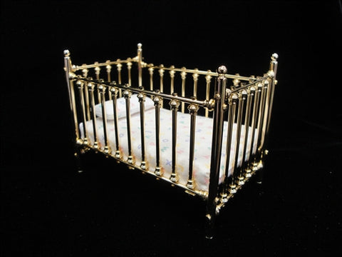 Crib by Clare Bell Brass OUT OF STOCK