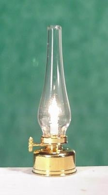 Oil Lamp by Clare-Bell Brass