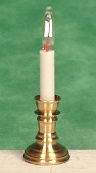 Holiday Candlestick, Pair, Electrified