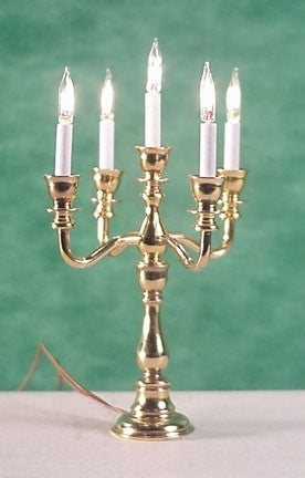 5 Light Georgian Candelabra, Electric
