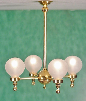 Clare-Bell Four Arm Globe Chandelier 10% OFF!