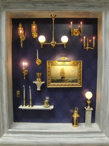 Clare-Bell Brassworks Lighting Display