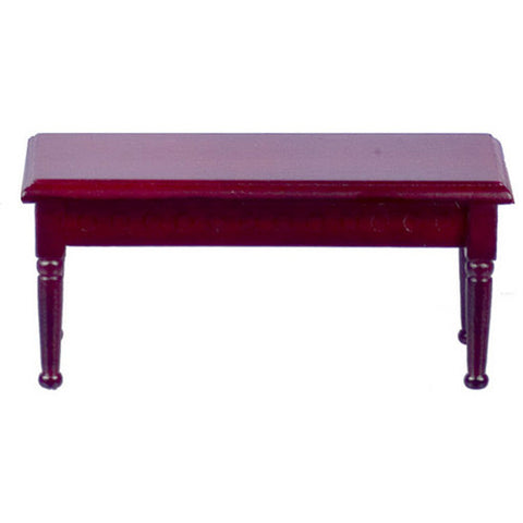 Coffee Table, Rectangular, Mahogany Finish