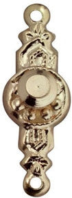 Colonial Door Knobs, 2PK,G.P.