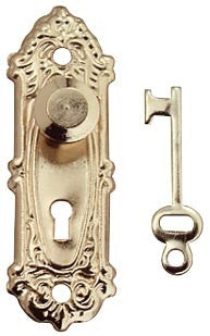 Opryland Door Handle Set W/Key, 2/PK