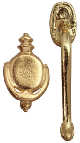 Door Handle and Knocker Set