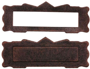 Mail Slot, 1/Pk, Oil Rubbed Bronze