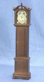 Grandfather Clock, Walnut Finish