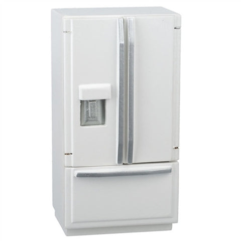 Refrigerator, White, Modern with Bottom Freezer