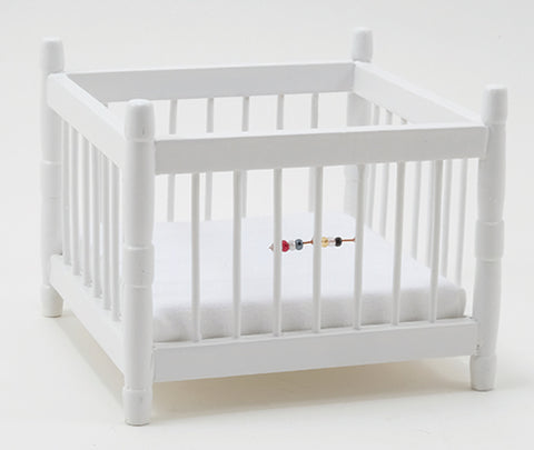 Playpen, White on White