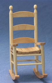 Rocking Chair, Ladderback, Oak