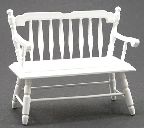 Deacon Bench, White