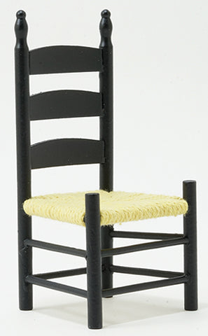 Shaker Side Chair, Black Finish