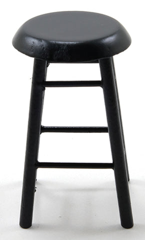 Bar Stool, Black Finish