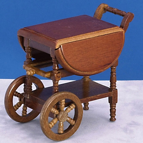Tea Cart, Walnut