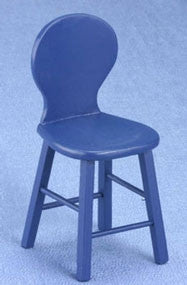 Blue Counter Chair