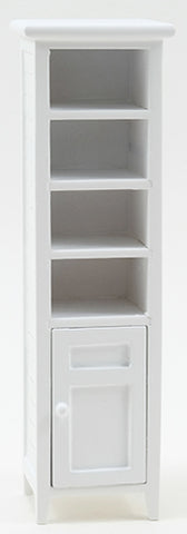 Bath Cabinet with Shelves, White