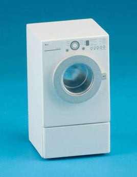 Modern Front Load Dryer, White