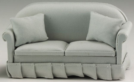 Sofa with Pillows, Soft Grey