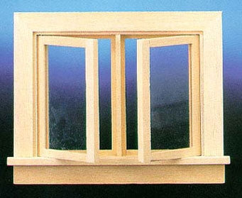 Double Swing-Out Casement Window