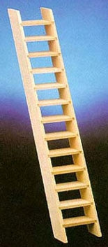 Miniature Scale Ladder Stairs