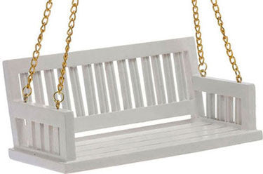 Porch Swing, White