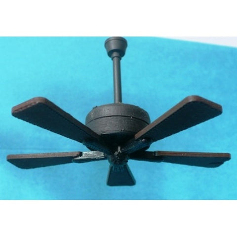 Working ceiling fans dollhouse junction landers working ceiling fan no light mozeypictures Gallery