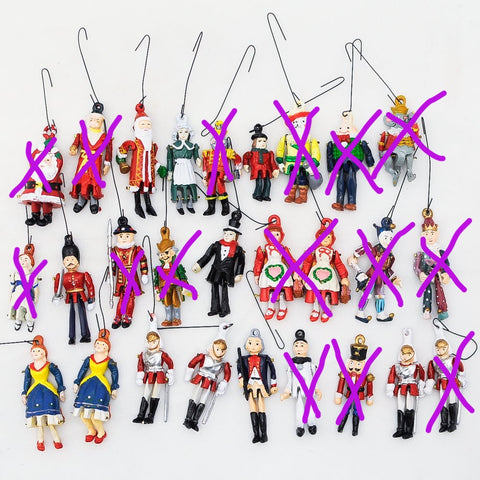 Metal Marionette Puppets, Sold Individually