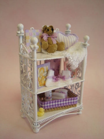 Nursery Shelf, Lavender Accessories