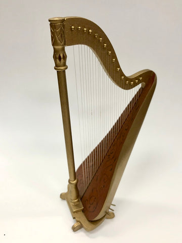 Painted Harp by Don Cnossen