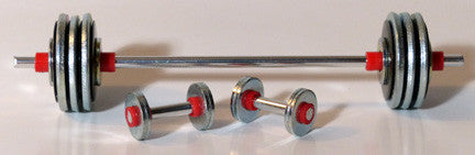 Set of Heavy Duty Weights