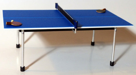 Ping Pong Table with Paddles