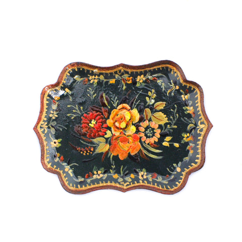 Hand Painted Tray by IGMA Artisan Natasha