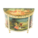 Renee Isabelle Hand Painted Commode Table