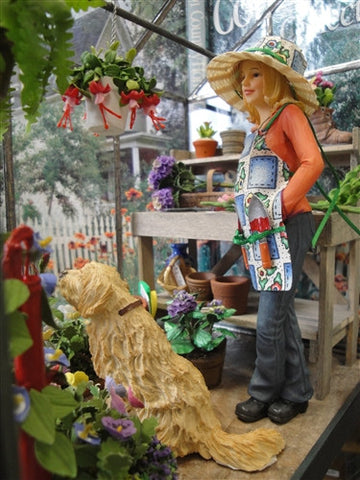 Potting Shed Scene