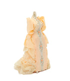 Mannequin with Peach Gown