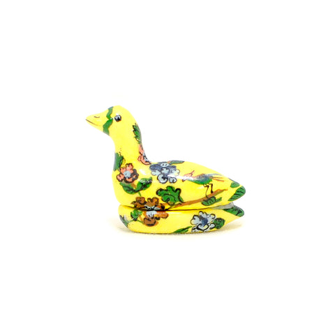Porcelain Duck, Covered Dish